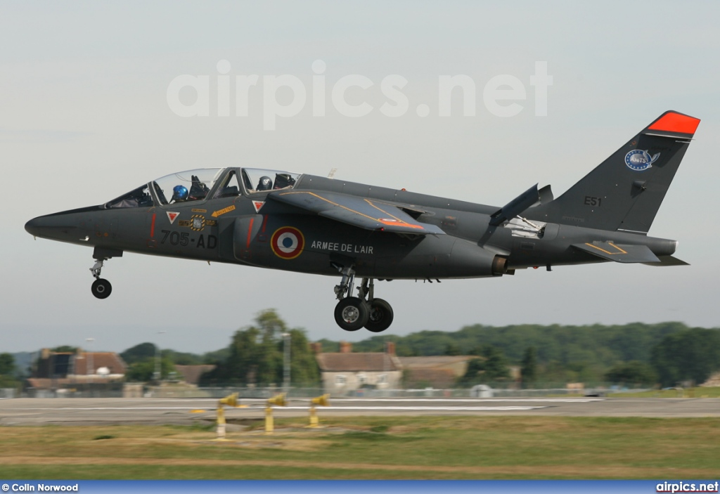 E51, Dassault-Dornier Alpha Jet E, French Air Force