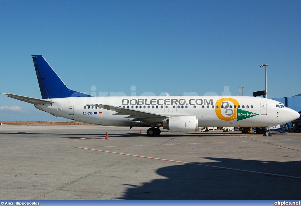EC-JSS, Boeing 737-400, Futura International Airways