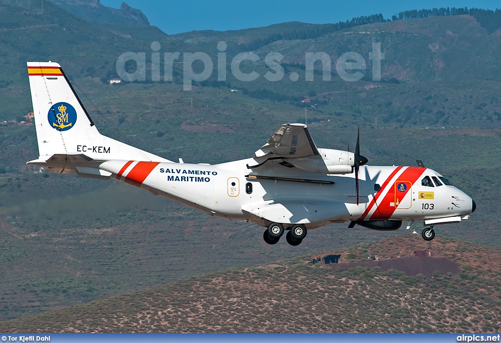 EC-KEM, Casa CN-235-300, Spanish Coast Guard