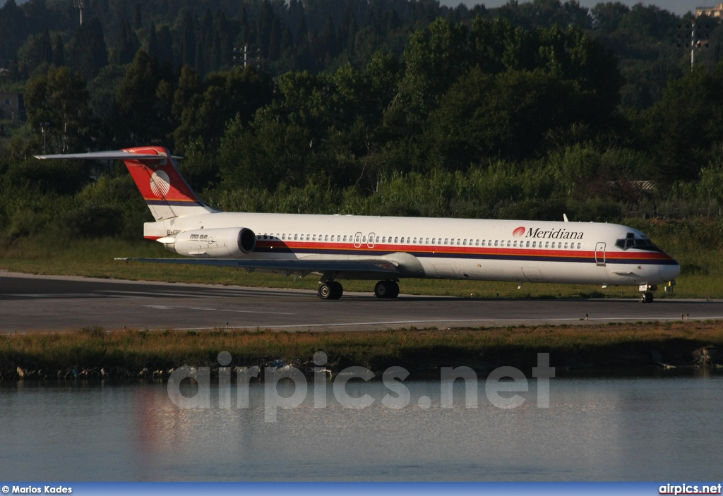 EI-CRE, McDonnell Douglas MD-83, Meridiana