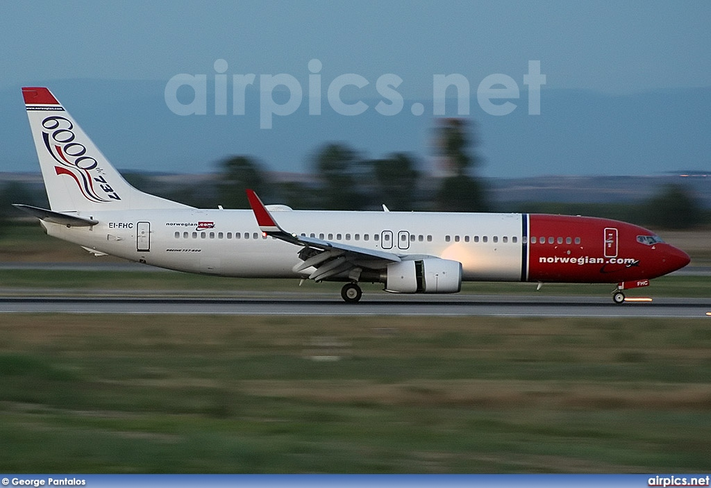 EI-FHC, Boeing 737-800, Norwegian Air Shuttle