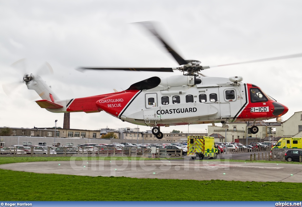EI-ICD, Sikorsky S-92A Helibus, CHC Helicopters Ireland