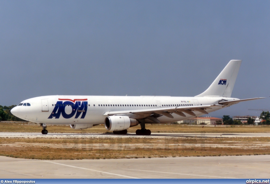 EI-TLL, Airbus A300B4-200, AOM French Airlines