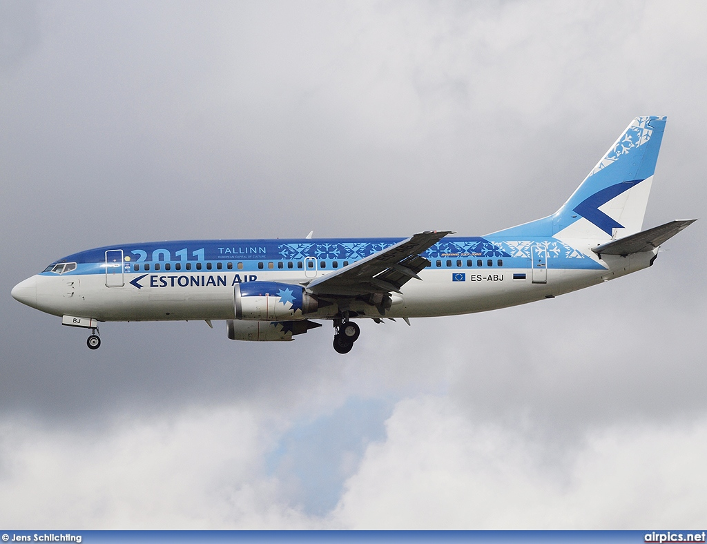 ES-ABJ, Boeing 737-300, Estonian Air