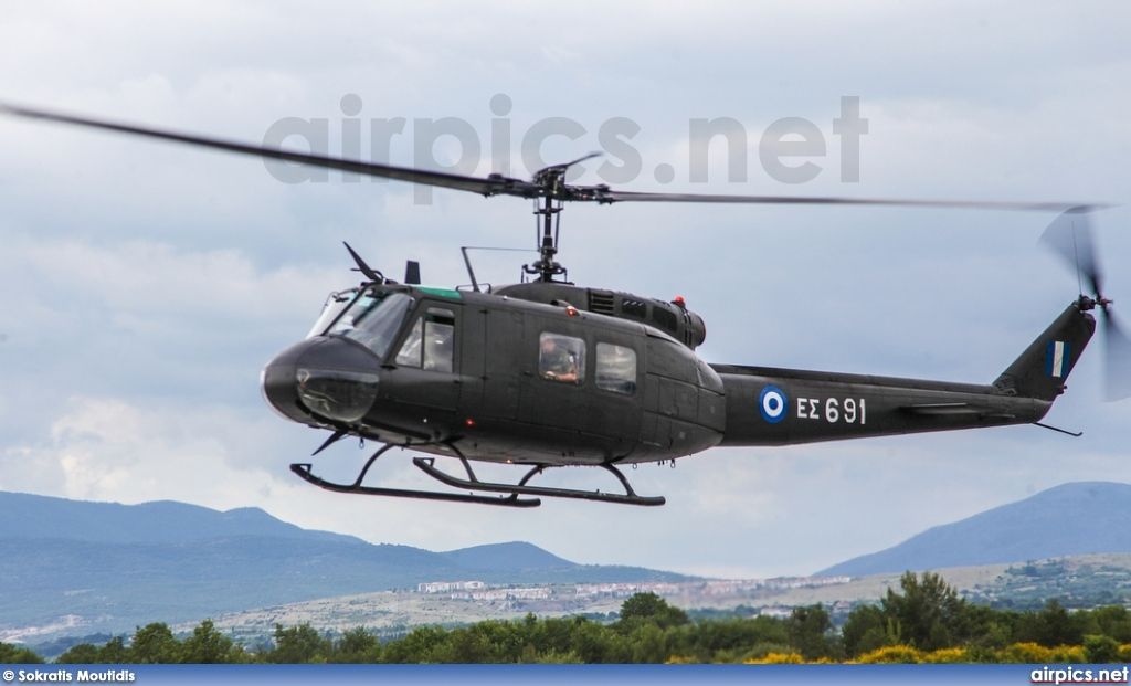 ES691, Bell UH-1H Iroquois (Huey), Hellenic Army Aviation