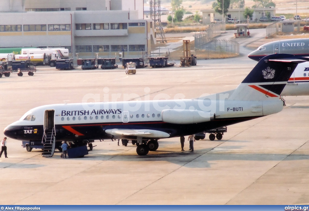 F-BUTI, Fokker F28-1000 Fellowship, British Airways