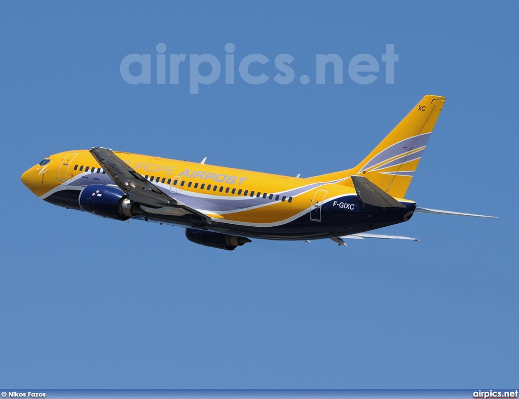 F-GIXC, Boeing 737-300(QC), Europe Airpost