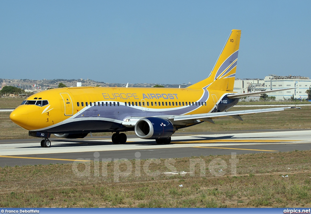 F-GIXD, Boeing 737-300(QC), Europe Airpost