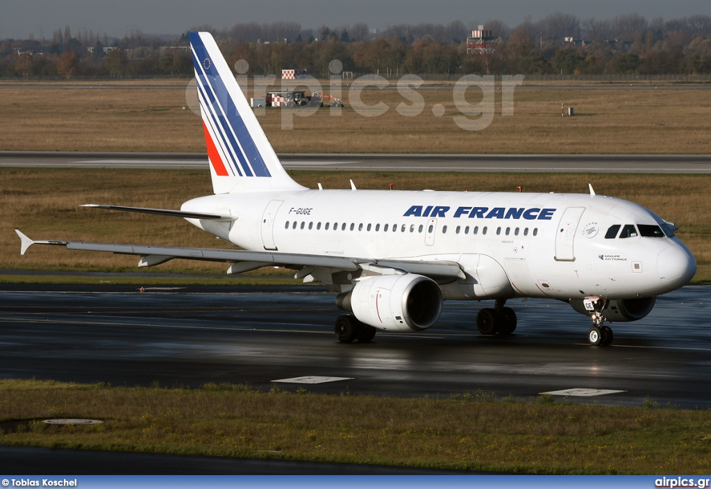 F-GUGE, Airbus A318-100, Air France