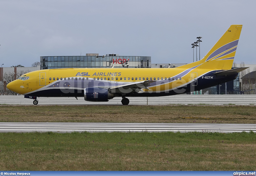 F-GZTM, Boeing 737-300(QC), ASL Airlines France