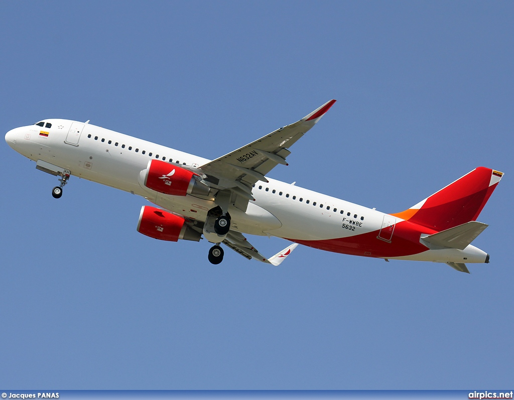 F-WWBE, Airbus A320-200, Avianca