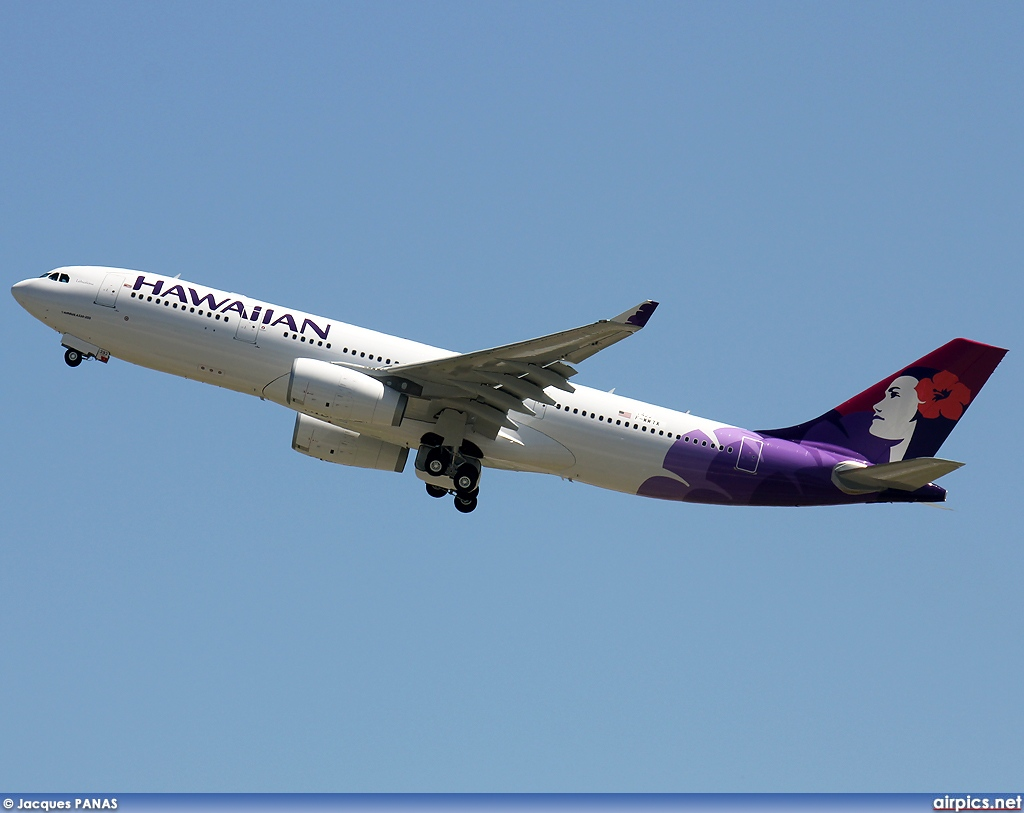 F-WWTX, Airbus A330-200, Hawaiian Airlines