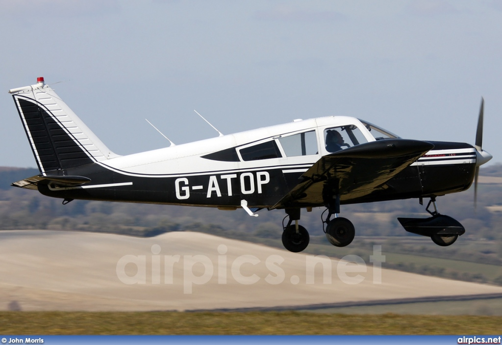 G-ATOP, Piper PA-28-140 Cherokee, Private
