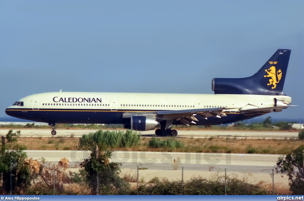 G-BBAI, Lockheed L-1011-1 Tristar, Caledonian Airways