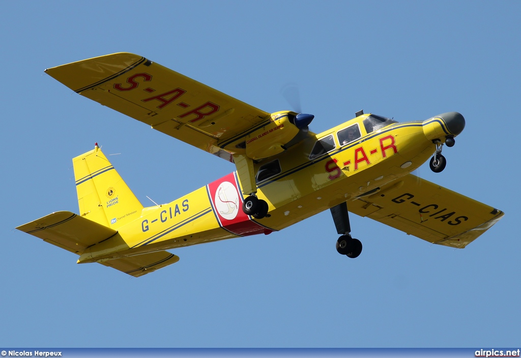G-CIAS, Britten-Norman BN-2B Islander II, Channel Islands Air Search