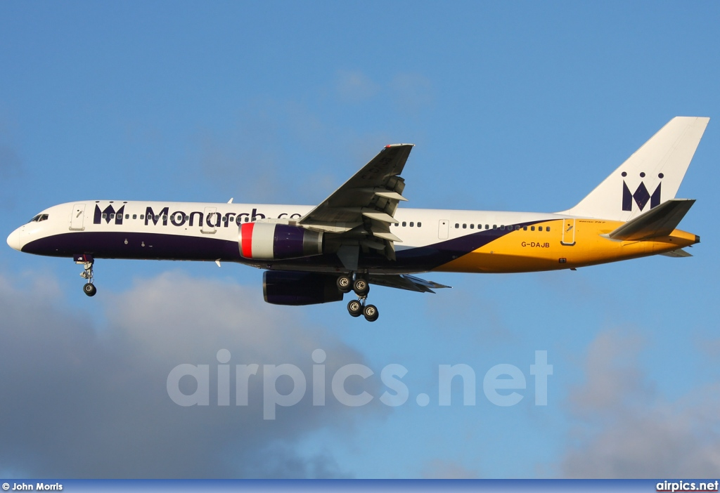 G-DAJB, Boeing 757-200, Monarch Airlines