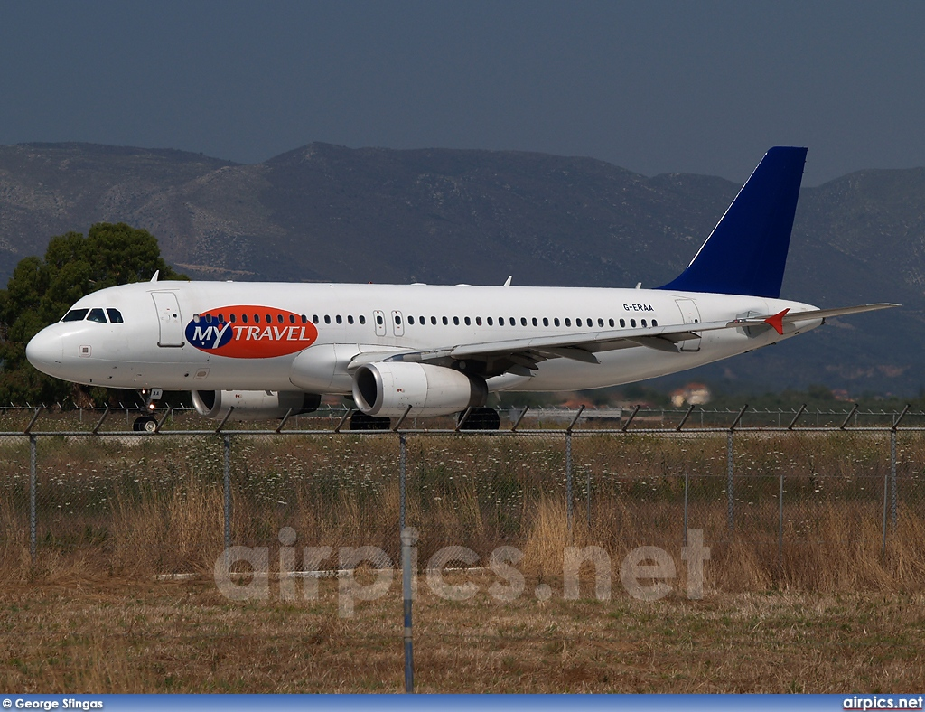 G-ERAA, Airbus A320-200, MyTravel Airways