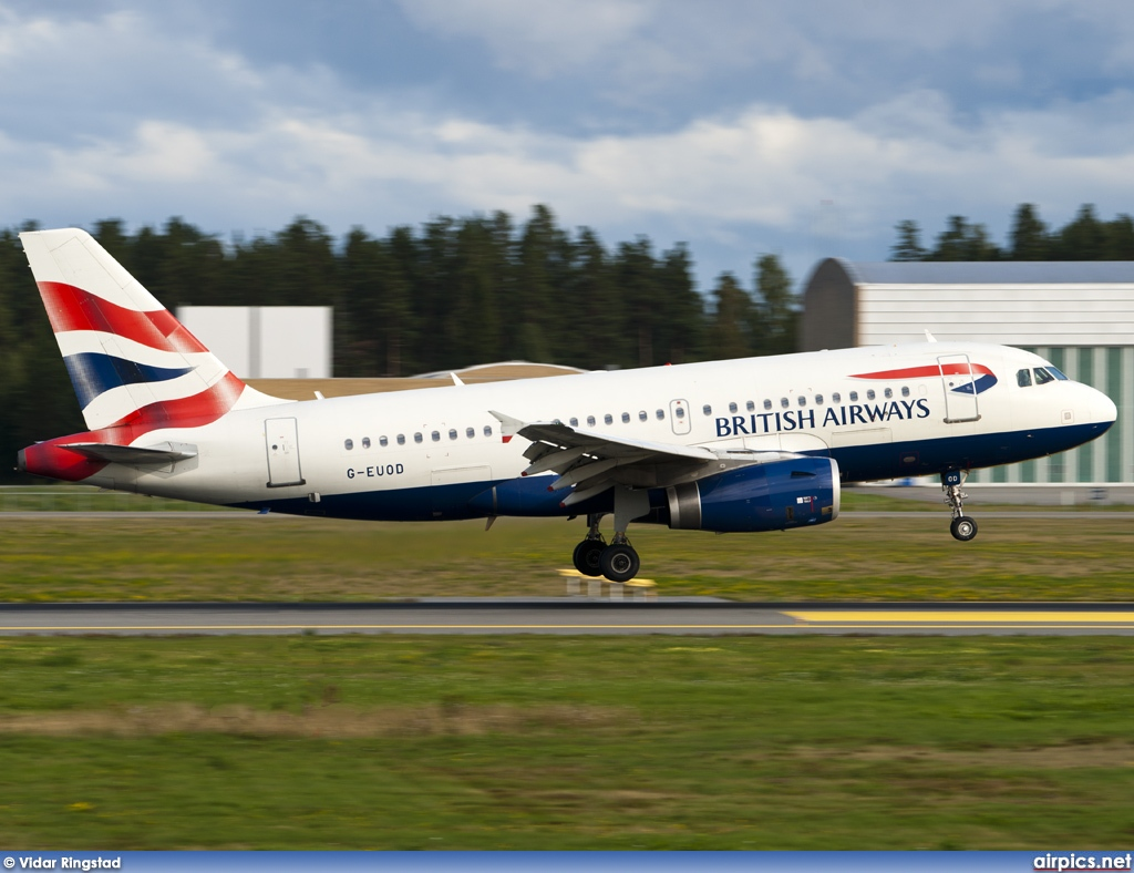 G-EUOD, Airbus A319-100, British Airways