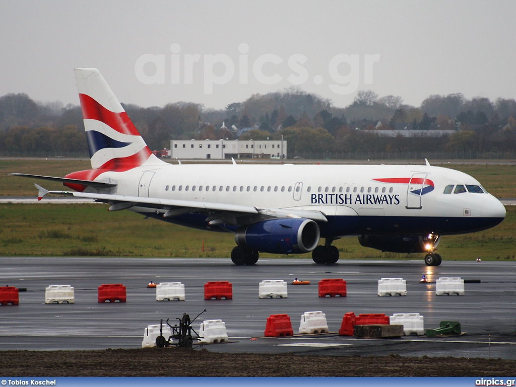 G-EUOE, Airbus A319-100, British Airways