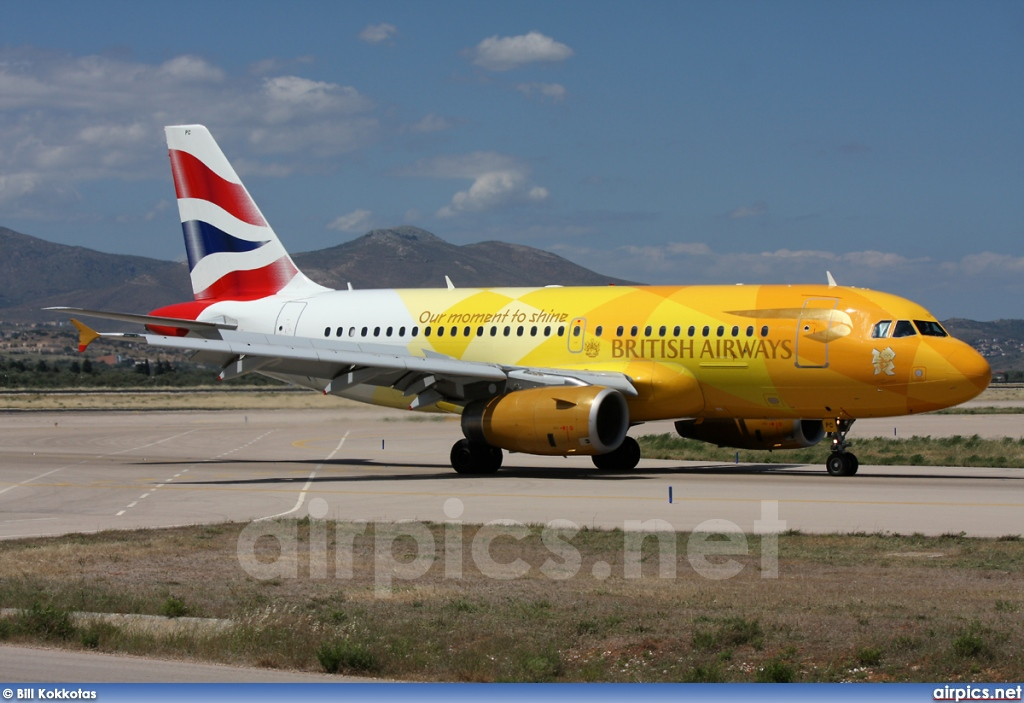 G-EUPC, Airbus A319-100, British Airways
