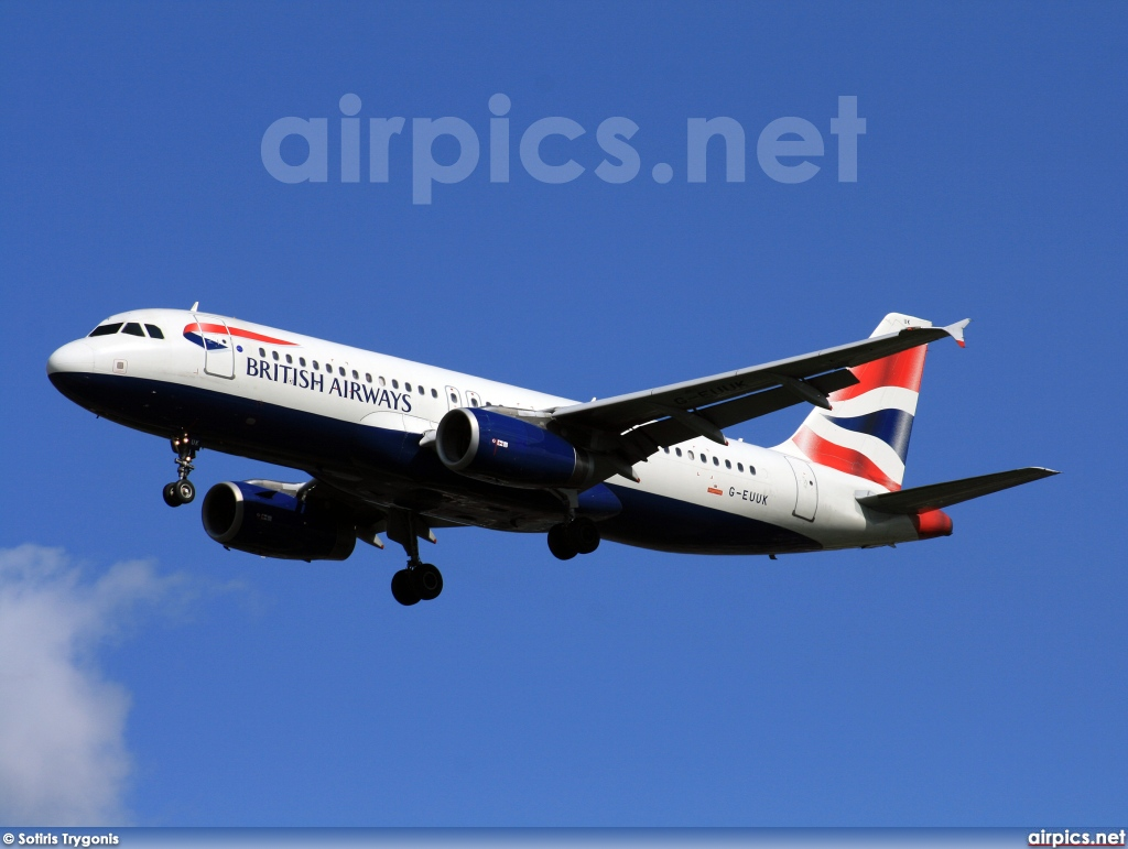 G-EUUK, Airbus A320-200, British Airways