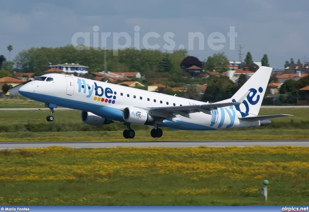 G-FBJG, Embraer ERJ 170-200STD, flybe.British European