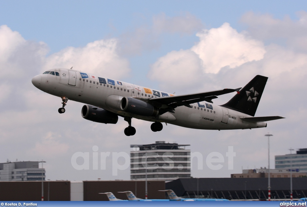 G-MIDX, Airbus A320-200, bmi