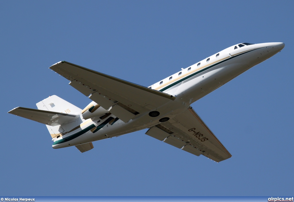 G-NSJS, Cessna 680-Citation Sovereign, Untitled