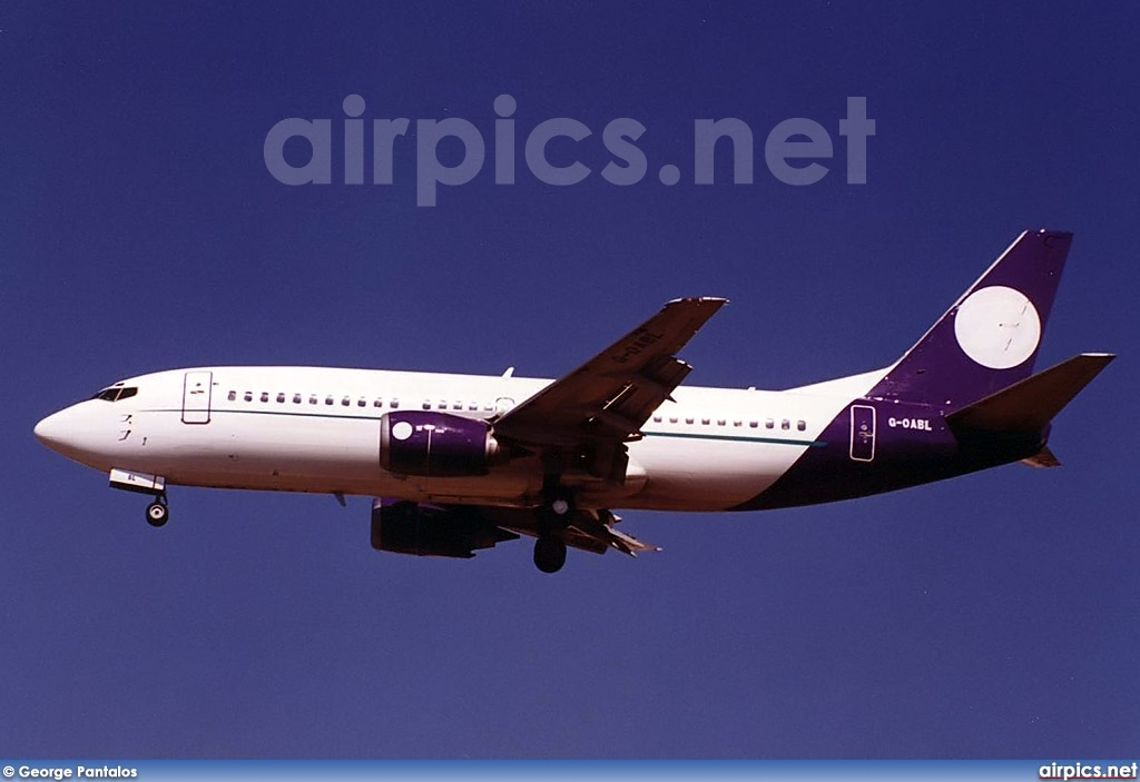 G-OABL, Boeing 737-300, Untitled