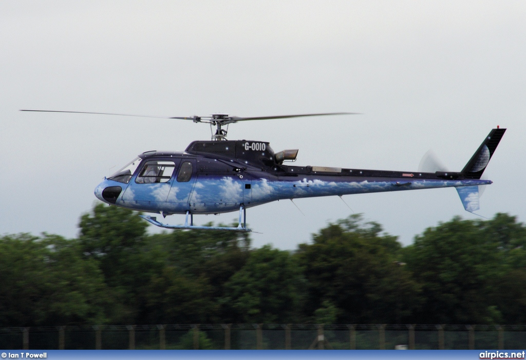 G-OOIO, Aerospatiale (Eurocopter) AS 350-B Ecureuil, Private