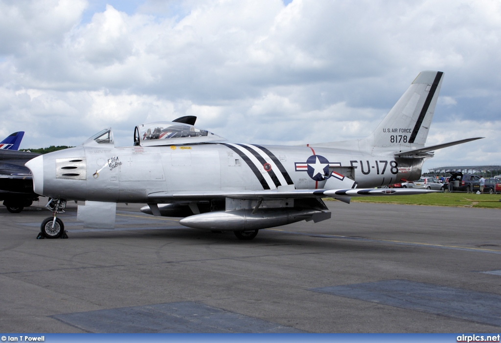 G-SABR, North American F-86A Sabre, Private