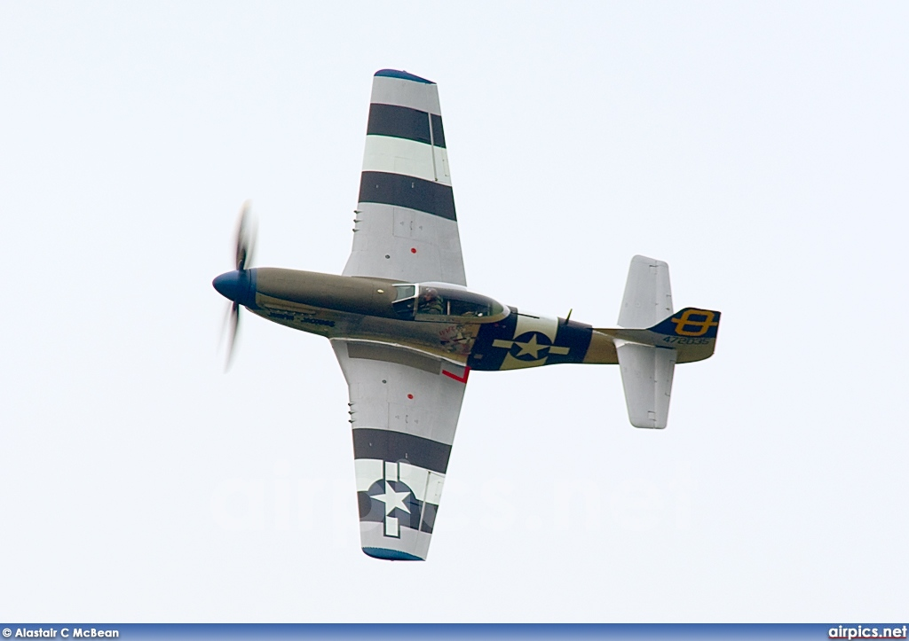 G-SIJJ, North American P-51D Mustang, Untitled