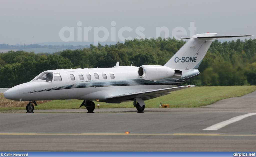 G-SONE, Cessna 525A Citation CJ2, Private