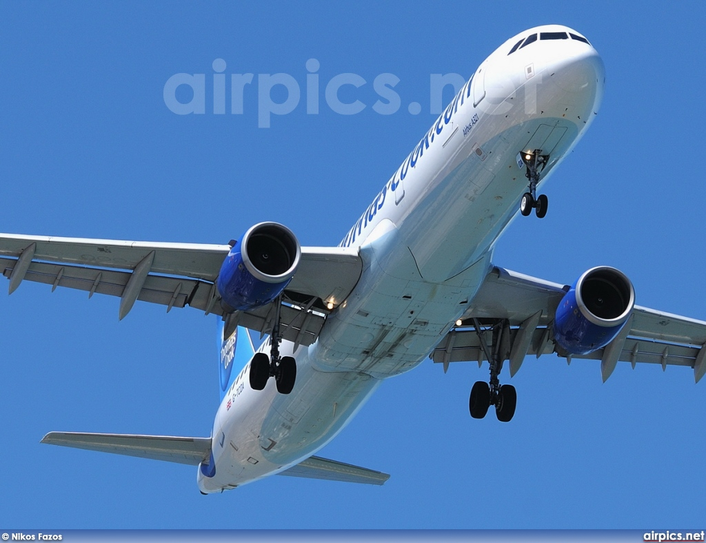 G-TCDA, Airbus A321-200, Thomas Cook Airlines