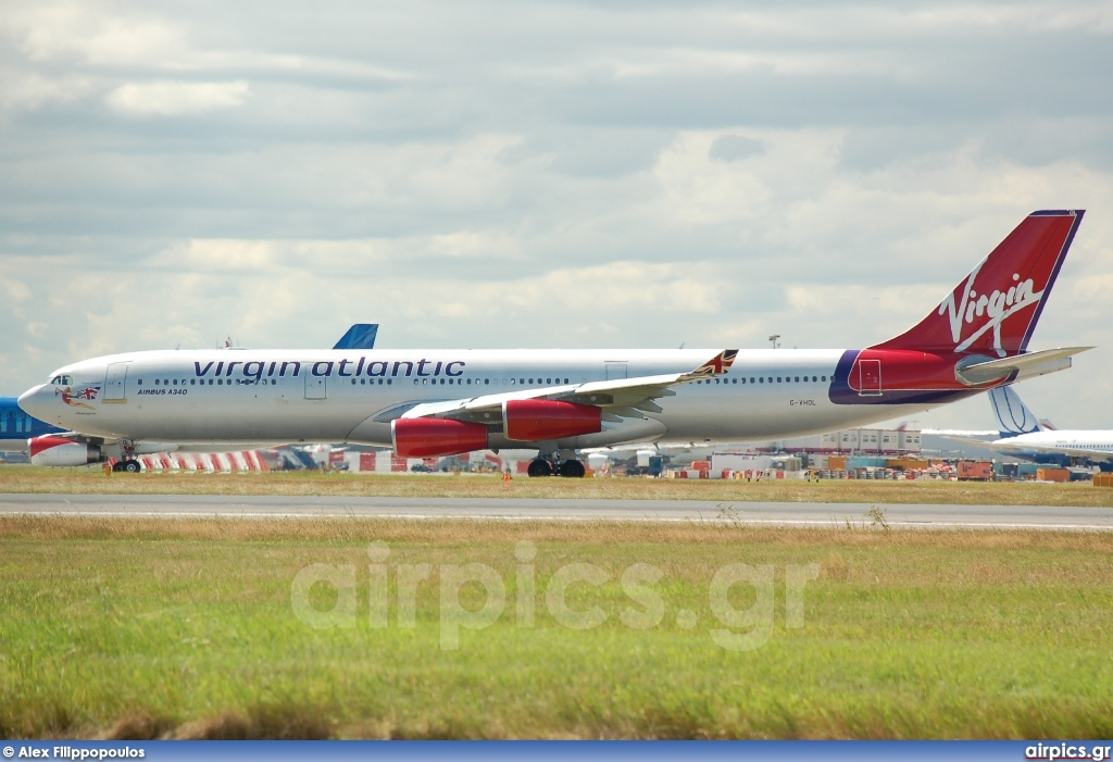 G-VHOL, Airbus A340-300, Virgin Atlantic