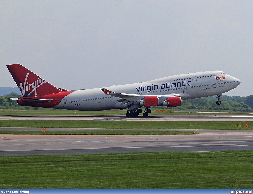 G-VROY, Boeing 747-400, Virgin Atlantic