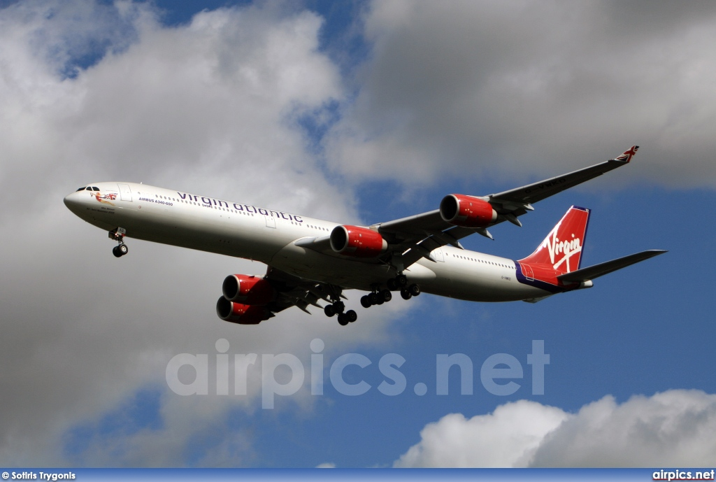 G-VWKD, Airbus A340-600, Virgin Atlantic