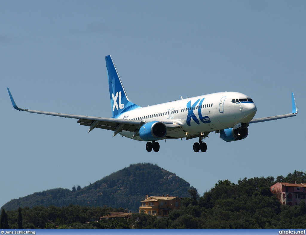 G-XLAJ, Boeing 737-800, XL Airways