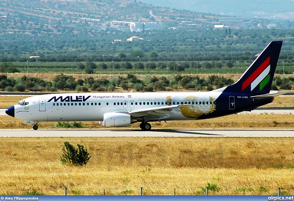 HA-LOK, Boeing 737-800, MALEV Hungarian Airlines