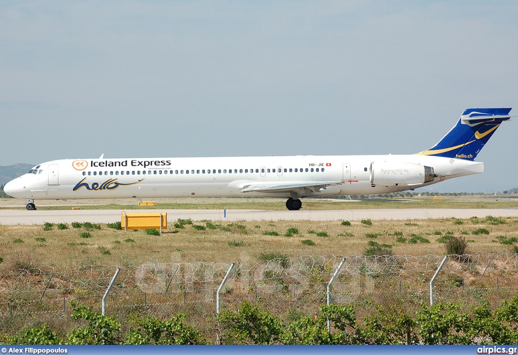 HB-JIE, McDonnell Douglas MD-90-30, Iceland Express