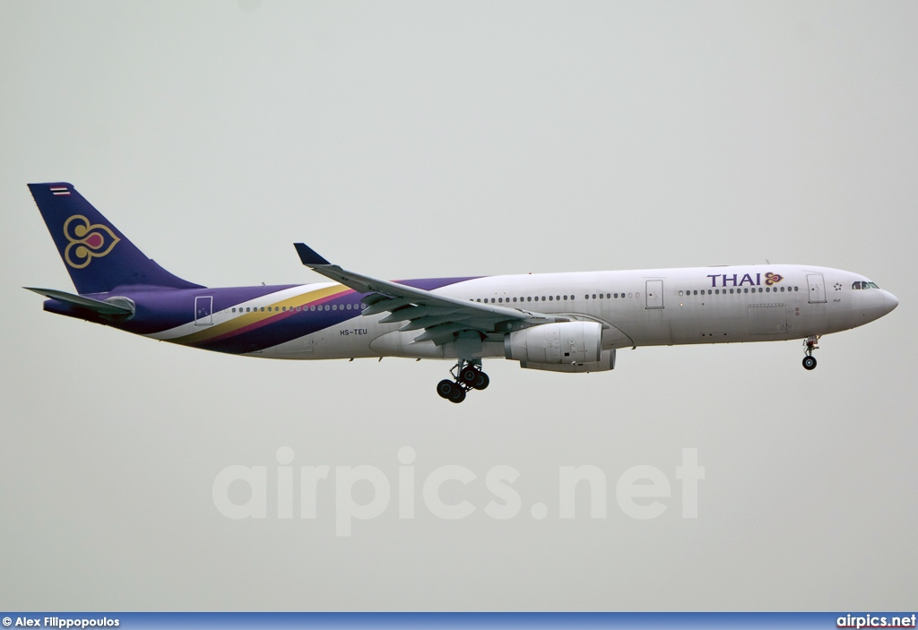 HS-TEU, Airbus A330-300, Thai Airways