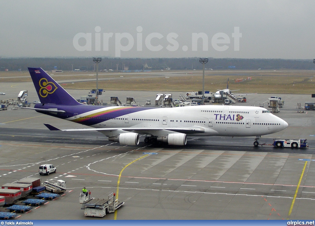 HS-TGP, Boeing 747-400, Thai Airways