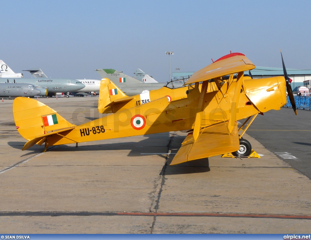 HU-838, De Havilland DH-82A Tiger Moth II, Indian Air Force