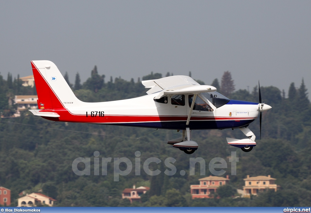 I-6716, Tecnam P92 Echo Super, Private