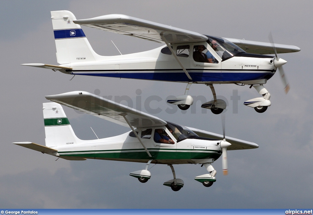 I-7105, Tecnam P92 Echo Super, Private