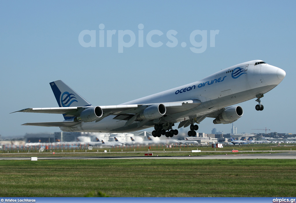 I-OCEU, Boeing 747-200F(SCD), Ocean Airlines