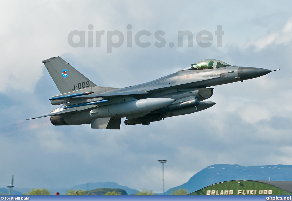 J-009, Lockheed F-16AM Fighting Falcon, Royal Netherlands Air Force