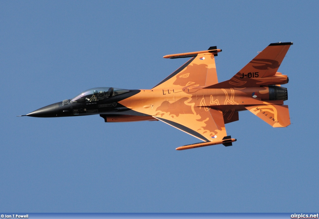 J-015, Lockheed F-16AM Fighting Falcon, Royal Netherlands Air Force