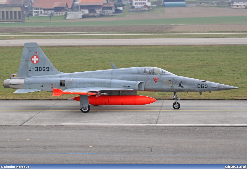 J-3069, Northrop F-5E Tiger II, Swiss Air Force