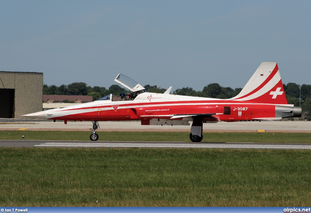 J-3087, Northrop F-5E Tiger II, Swiss Air Force
